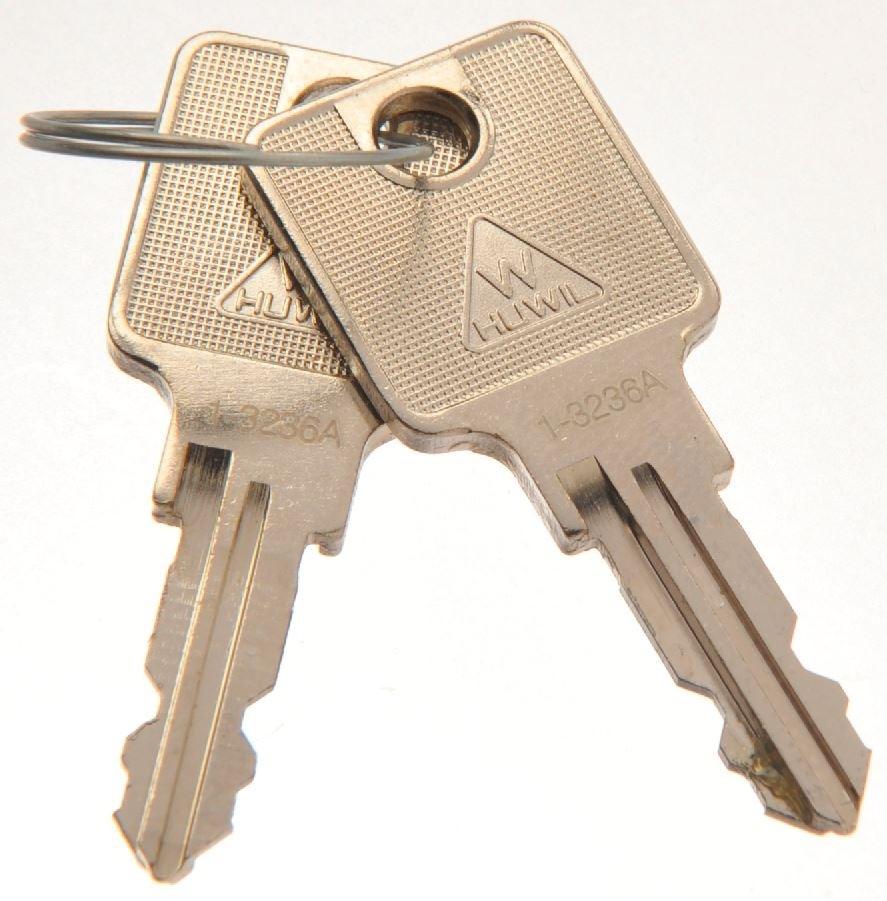 HUWIL Schlüssel 1550 in 2000 versch. Schl. 0